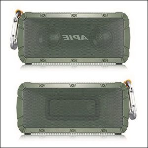 Apie Portable Wireless Outdoor Bluetooth Speaker Ipx6 Waterproof Dual 10w Drivers