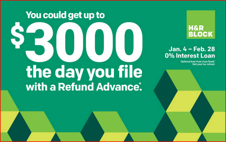 H&R Block Refund Advance 2020 For Christmas 2020 H&r Block Christmas Loan 2020 | Fekdcb.newyearinfo.site