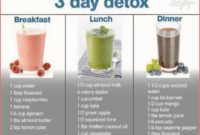 3 Day Detox To Lose Weight