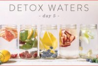 5 Day Detox Water Challenge