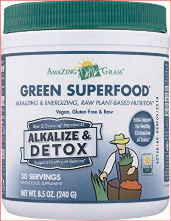 Amazing Grass Green Superfood Alkalize And Detox