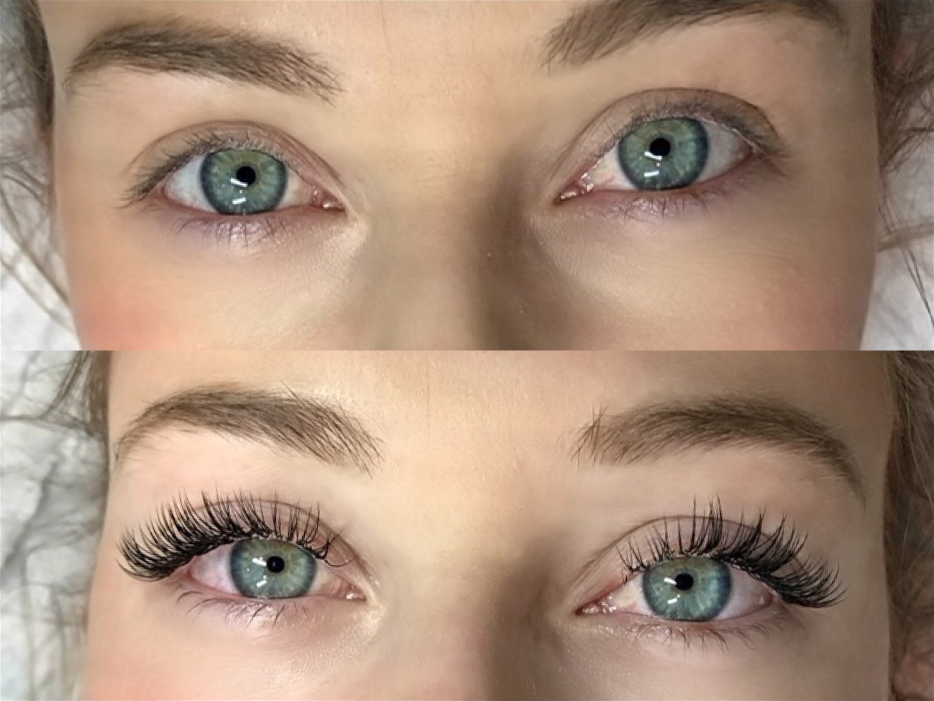 Full Set Of Mink Eyelash Extensions