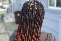 Different Color Knotless Braids Near Me