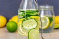 Lemon And Cucumber Water Detox