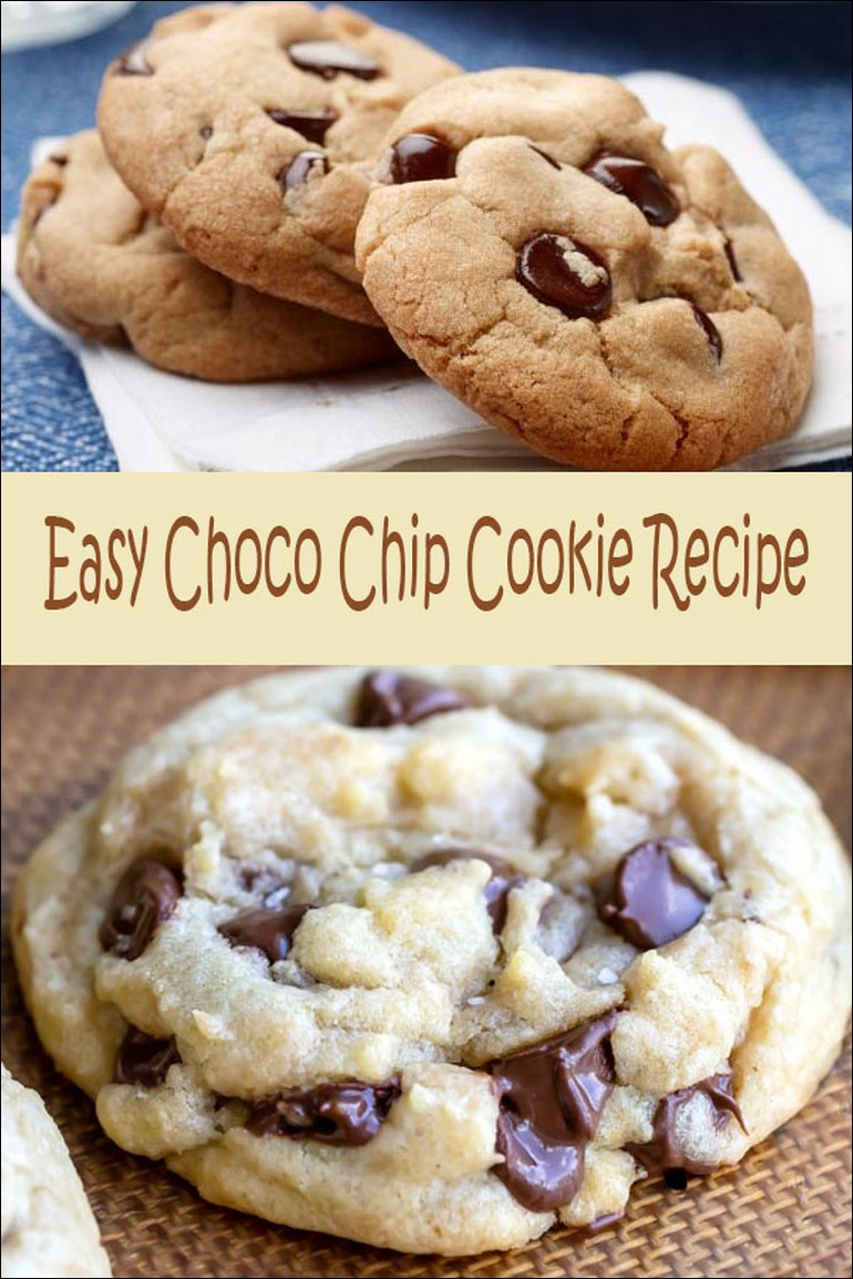 Easy Choco Chip Cookie Recipe
