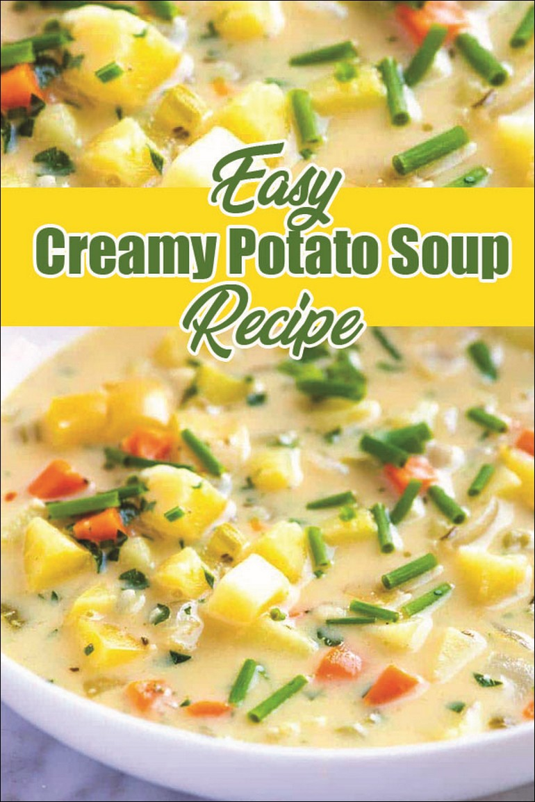Easy Creamy Potato Soup Recipe