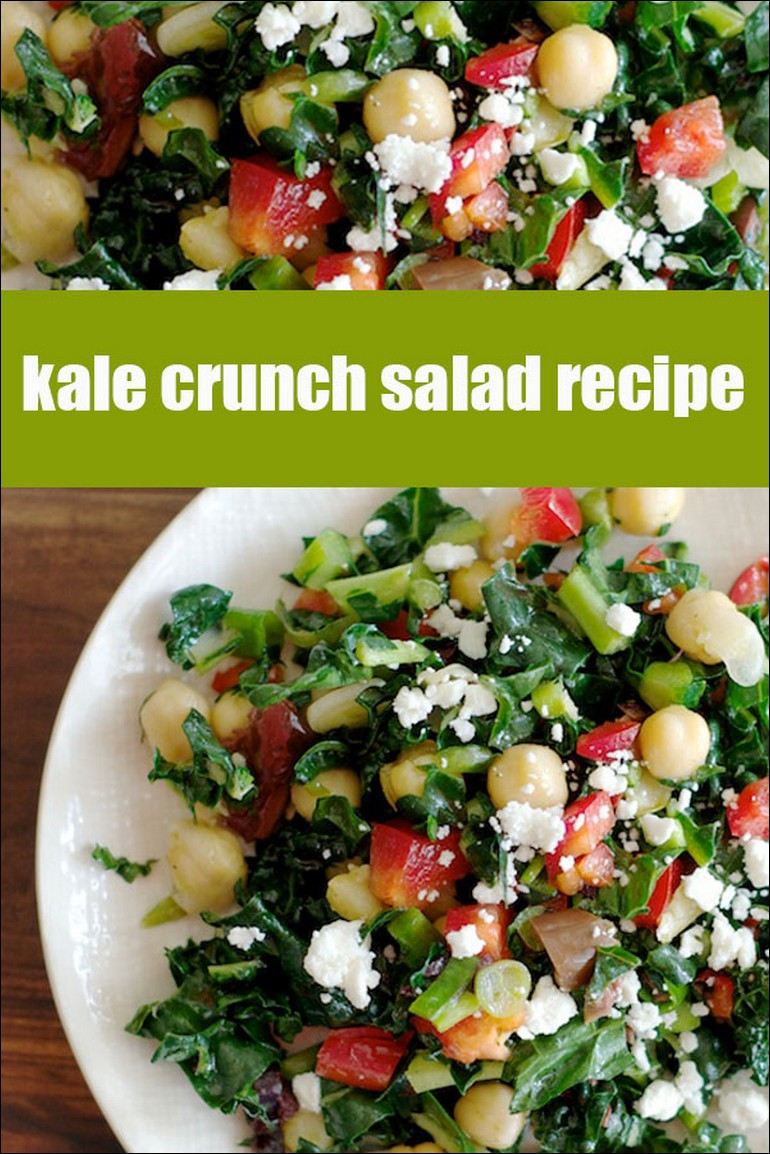 Kale Crunch Salad Recipe