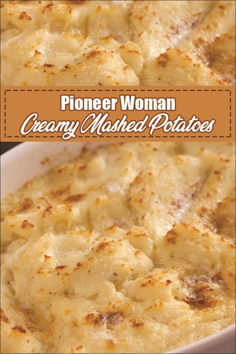 Pioneer Woman Creamy Mashed Potatoes