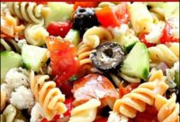 Pasta Salad With Italian Dressing Recipe