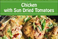 Chicken With Sun Dried Tomatoes